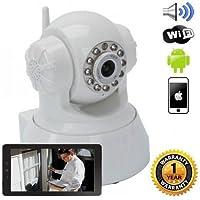 iSmart Wireless IP WiFi Pan Tilt Camera Night Vision Motion Detect Recording SD Slot Smarphone P2P Auto Connect QR Code Scan Set up
