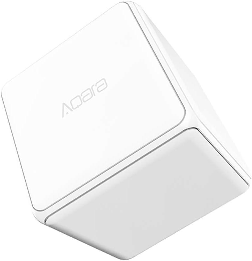 para Xiaomi Aqara Controlador de Cubo mágico, Zigbee Control de Seis Acciones para Dispositivo de Hogar inteligente Trabajar con para Mijia HomeKit App