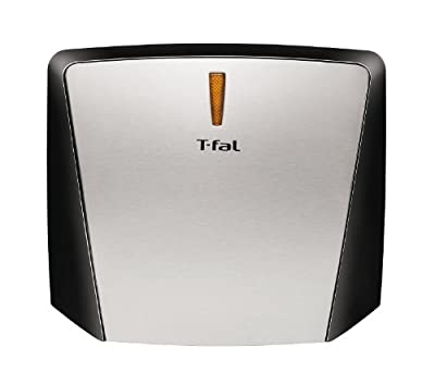 T-fal GC430D 4-Burger Curved Grill with Non-Stick Plates from T-fal
