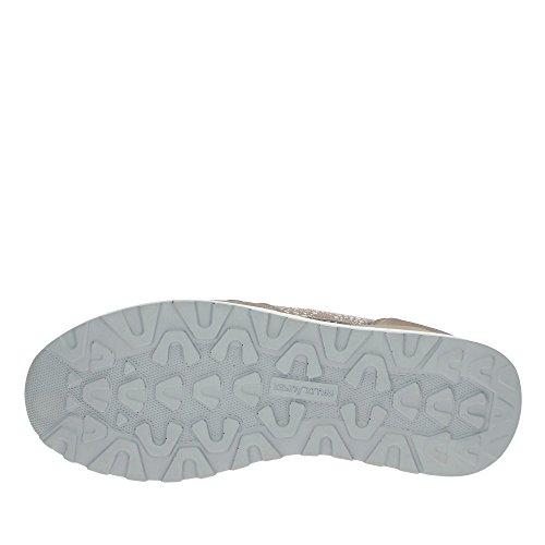 Waldläufer Hiroko Slipper taupe/metallic