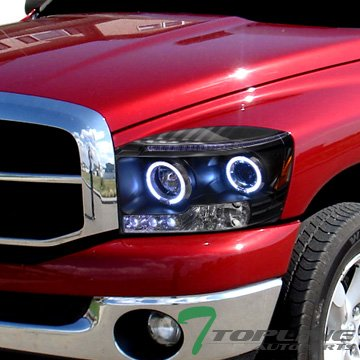 06 ram halo headlights - 4