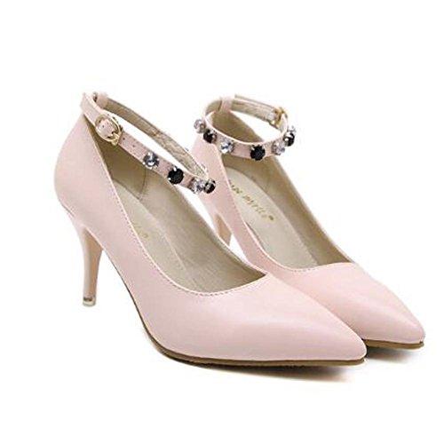 L@YC Frauen Schuhe Spitz High-Heeled Schuhe Hochzeit Schwarz / Pink / B¨¹ro & Beruf / Party und Party / Bekleidung Pink