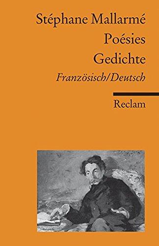 Poésies / Gedichte: Französisch/Deutsch (Reclams Universal-Bibliothek)