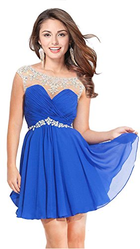 Butmoon Women's Sexy Short Prom Dresses 2016 Homecoming Dresses for Juniors