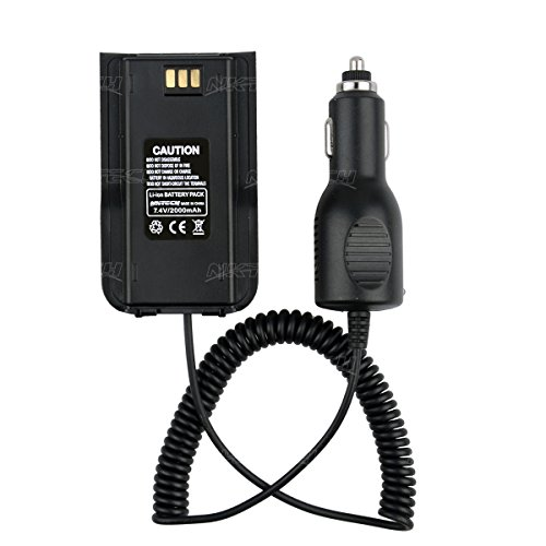 NKTECH Car Charger Battery Eliminator For TYT Tytera MD-380 NKTECH MD-380U MD-380V Digital Mobile Radio DMR Two Way Radio Transceiver Pack of 20 by NKTECH (Image #7)