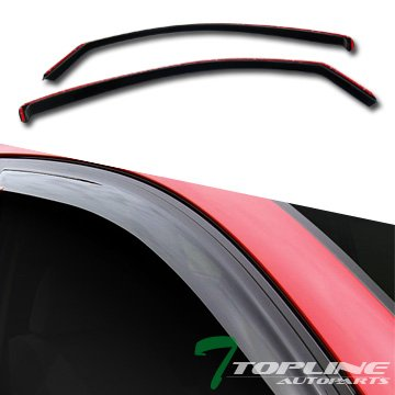 CHANNEL DEFLECTORS WINDOW VISORS TACOMA