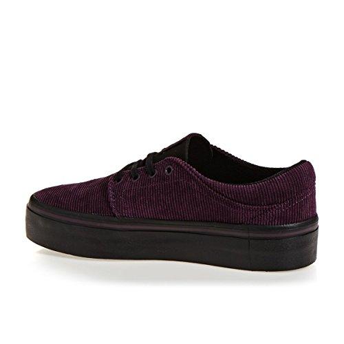 Maroon Platform DC Shoes Shoes Trase TXS DC DC Shoes 4wq8xpH8
