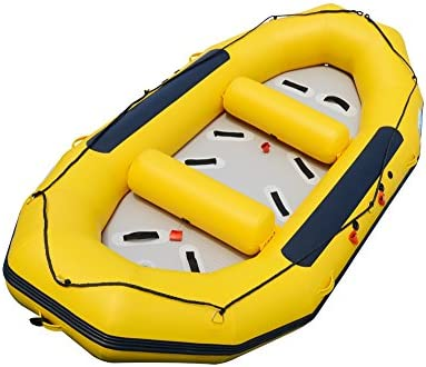 BRIS 1.2mm 12ft Inflatable White Water River Raft Inflatable Boat FloatingTubes