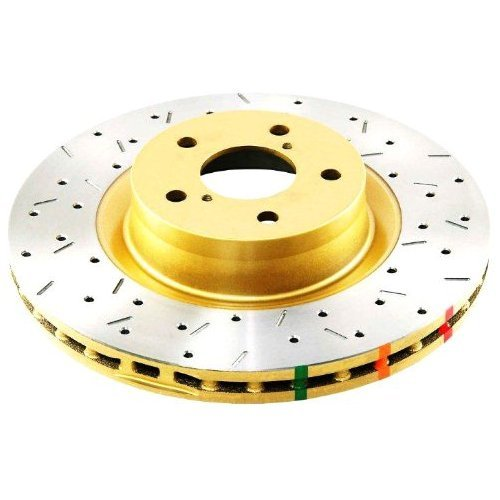 DBA (4655XS-10) 4000 Series Drilled and Slotted Disc Brake Rotor, Rear
