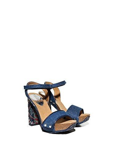 Desigual Shoes_Samba Exotic Denim 2018//18SSHD11 5008 Blau