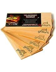 Deski do grillowania XL – deska z drewna cedrowego do grillowania – deski do wędzenia z drewna cedrowego firmy Grillart® wyprodukowane w 100% z naturalnego drewna cedrowego western Red dla wyjątkowego smaku grillowania