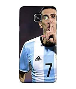 ColorKing Football Dimaria Argentina 01 Multicolor shell case cover for Samsung A5 2016
