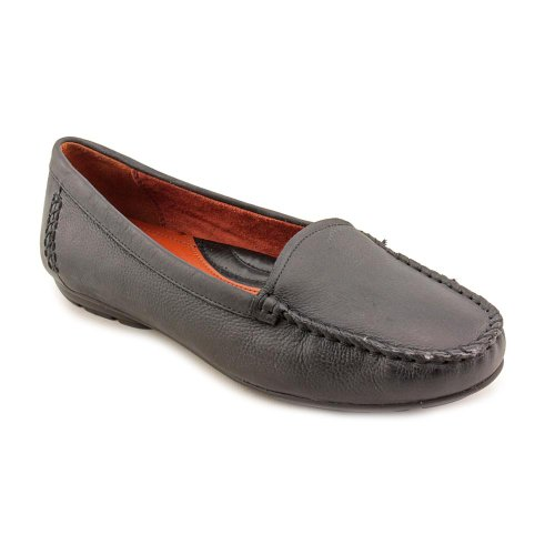 Naturalizer Womens Kellyn Loafer Black Leather