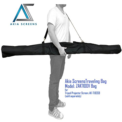 Elite Screens Tripod Projection Screen (Akia Screens Protective Carrying Bag for 100