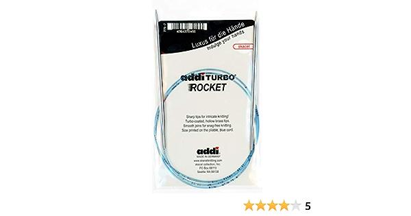 addi Knitting Needle Circular Turbo Sock Rocket Lace Skacel 16 inch Size US 000 40cm 1.5mm