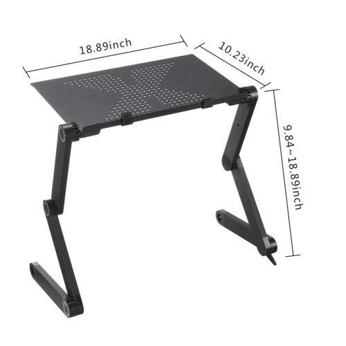 Anmas Home, Soporte portátil de Aluminio Ajustable para Ordenador ...