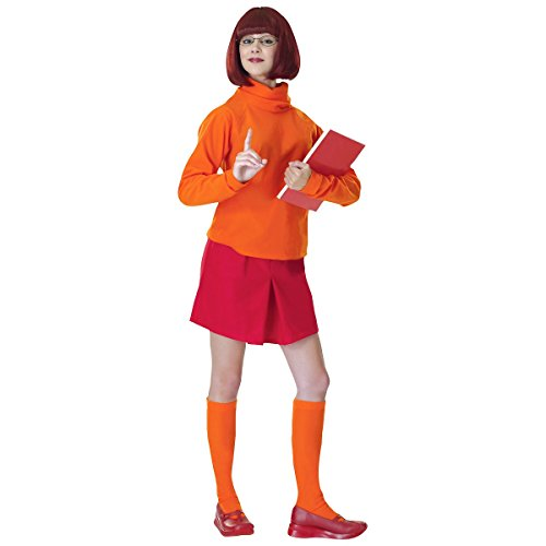 Velma Costume - Standard - Dress Size 6-12 -