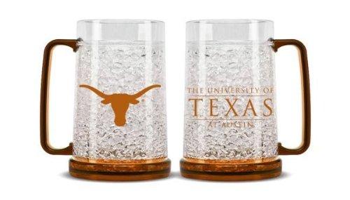 Duck House NCAA Texas Longhorns 16oz Crystal Freezer Mug ()