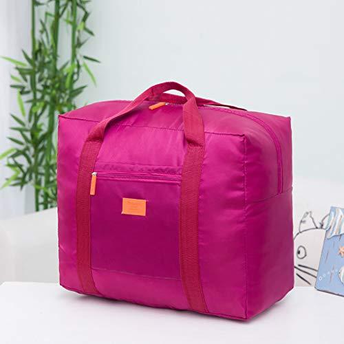 OrchidAmor Packable Travel Duffel Bag Waterproof Nylon Foldable Carry-on Package Versatile 2019]()