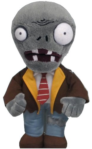 Plants vs Zombies Zombie Plush