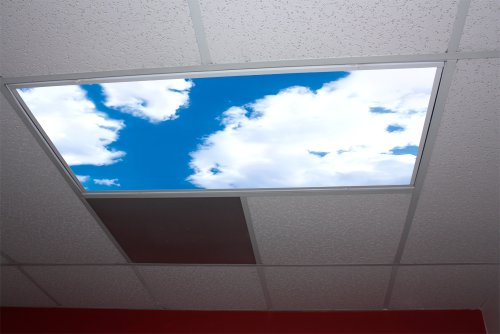 Cumulus I Skypanels; Fluorescent Light Diffuser - Sky Panel