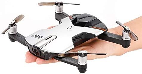 ElevenY Mini S6 para Pocket Selfie Drone WiFi FPV 13MP 4K HD ...