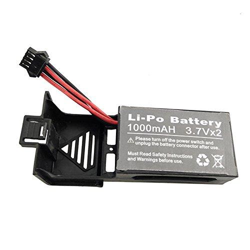Ocamo Batería de 7.4V 1000mAh Li-Po para UDI U842 U842-1 U818S RC ...