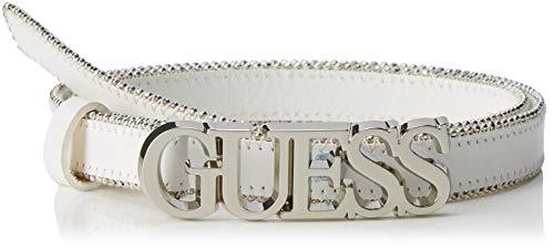 true Guess A000 Cintura White Bianco Metal Logo Chain Twht Bel Donna SqwxO0qCr