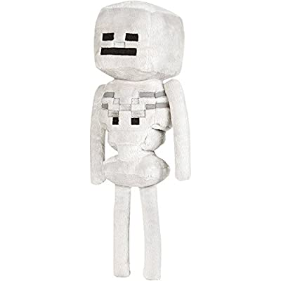 Telhas Gifts Minecraft Skeleton Plush Toy 9-inch by Telhas Gifts