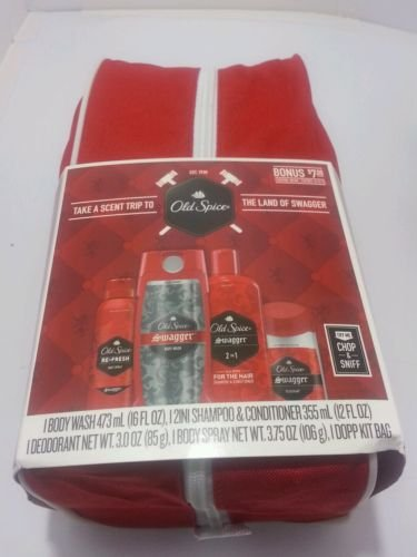 Old Spice Swagger Dopp Gift Set with Bag