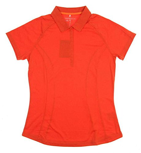 Price comparison product image Nike Golf Women's Luxe Raglan Polo 2.0 Bright Mandarin/Team Orange/Heather/Electro Orange Polo Shirt LG