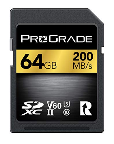 ProGrade Digital SDXC UHS-II Memory Card (64GB)