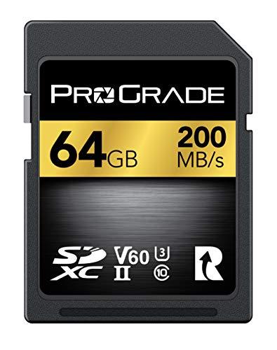 - ProGrade Digital SDXC UHS-II Memory Card (64GB)
