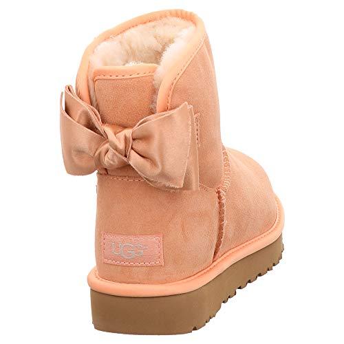 Rosa Pink Mujer Mini Botas Ugg® Bow Satin natural Xx6nZpa1