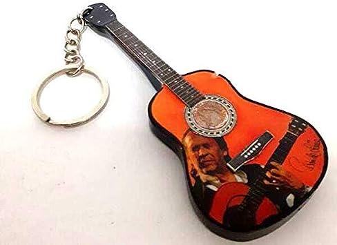 Llavero con Forma de Guitarra Flamenca – Paco de Lucia: Amazon.es ...