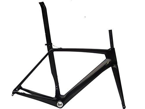 フルカーボン光沢700 Cロードバイクサイクリングbb30フレームフォークシートポストクランプ58 cm   B00MX2MTMU