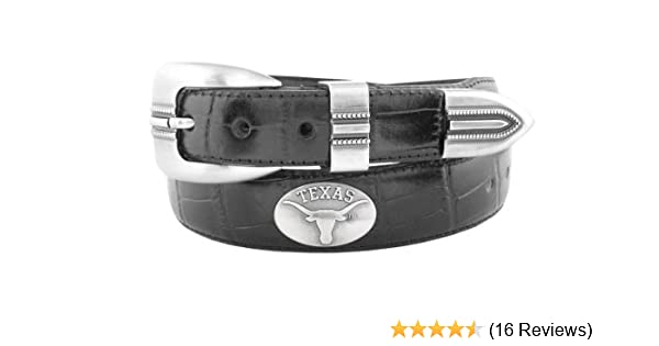 Zeppelin Products Inc NCAA LSU Tigers Leather Concho Belt