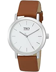 TKO ORLOGI Mens TK659ST Analog Display Quartz Brown Watch