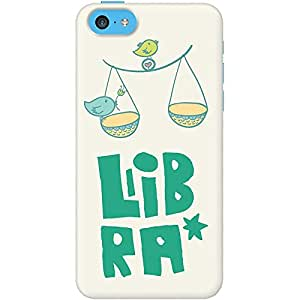 DailyObjects Libra Case For iPhone 5C (Back Cover)