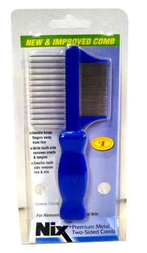 Premium Metal Sided Lice Remover product image