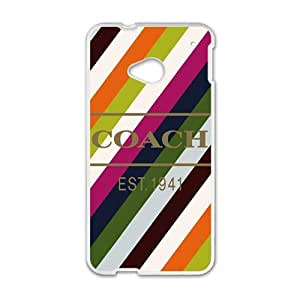 YESGG Coach design fashion cell phone case for HTC One M7