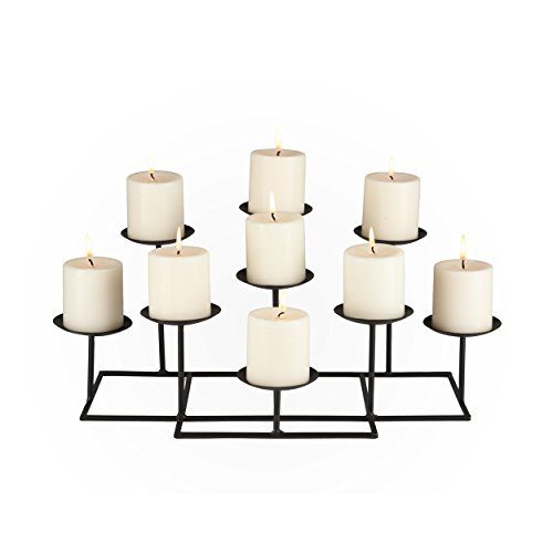 037732021157 - 9 Candle Candelabra carousel main 2