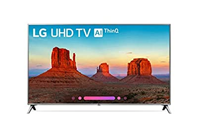 "LG 55UK6500AUA 4K HDR Smart LED UHD TV, 55"" (Renewed)"