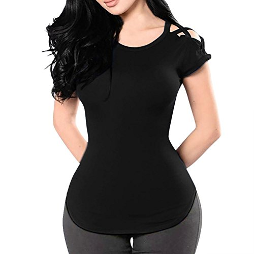 Bekleidung Donna Damen Nero Shirt155 Ballerine SANFASHION SANFASHION 1xOwq77P