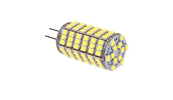 Bombillas, bombillas de inicio, G4 Bombillas LED de Mazorca T 118 leds SMD 5050 Blanco Fresco 400lm 5500-6500K DC 12V Bulbos: Amazon.es: Hogar