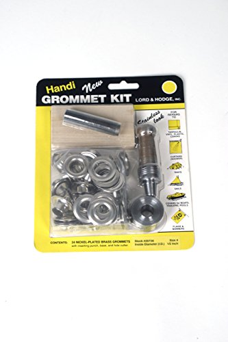met Kit Brass (Nickel Plated) (Handi Grommet Kit)