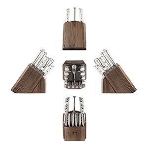 Cangshan S1 Series 1022599 German Steel Forged 17-Piece Knife Block Set , Walnut