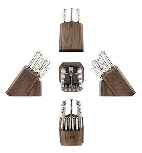 Cangshan S1 Series 1022599 German Steel Forged 17-Piece Knife Block Set , Walnut by Cangshan (Image #2)'
