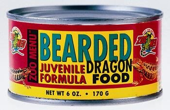 Bearded Dragon Food Juvenile Wet Formula [Set of 3]