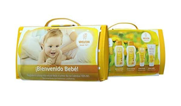 WELEDA Set regalo bienvenido bebe neceser: Amazon.es: Belleza